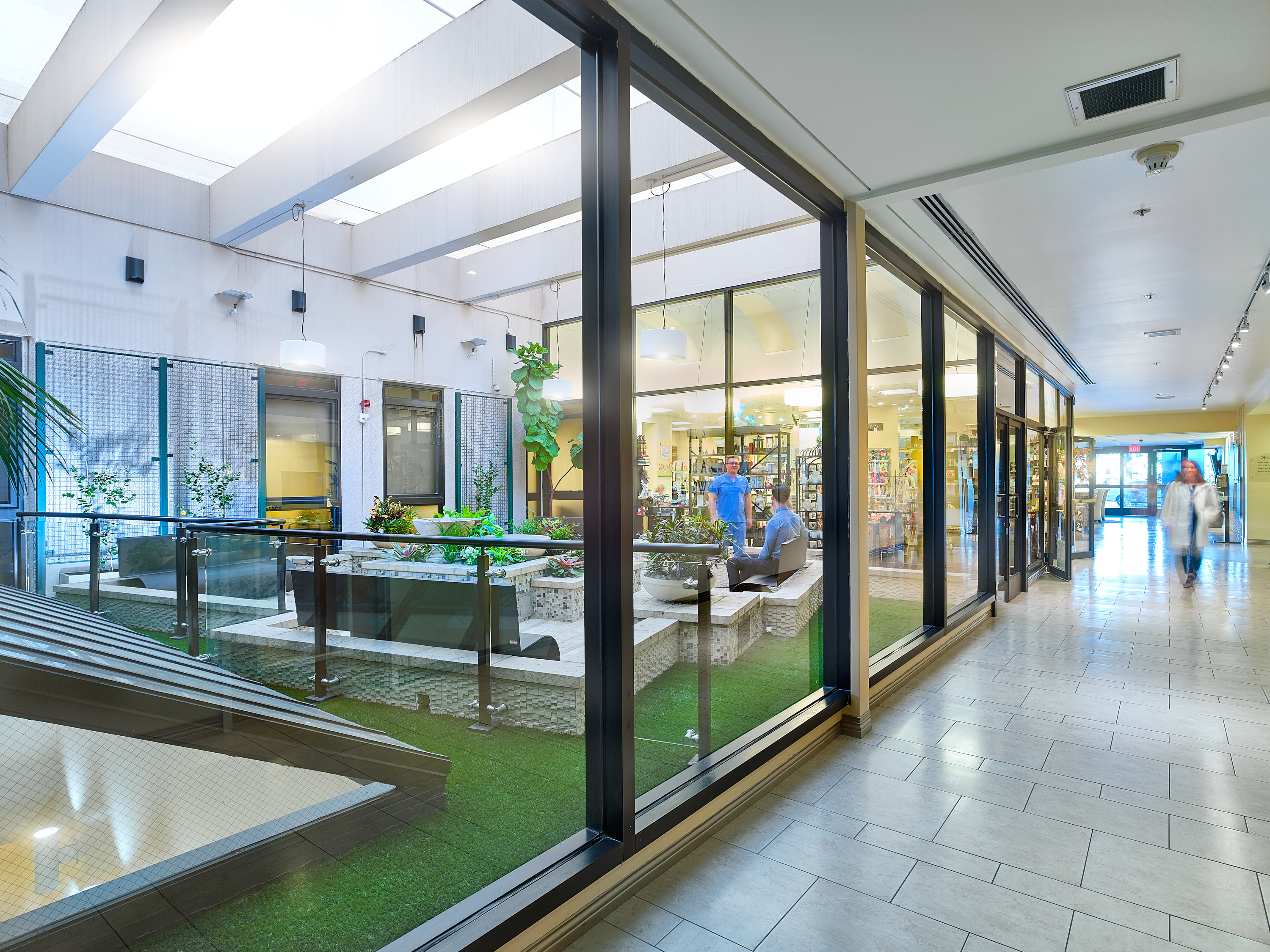 Saddleback  Medical Center  Atrium